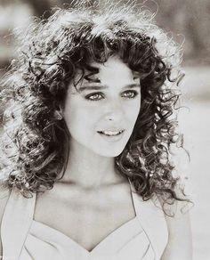 Valeria Golino, 1988 -  actress - born 10/22/1966  Naples, Campania, Italy