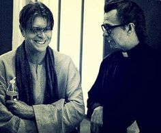 David Bowie and Gary Oldman from The Next Day video.