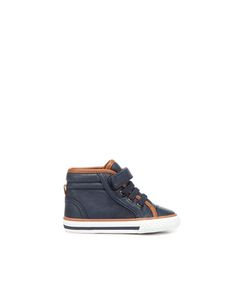high-top sneaker with velcro - Shoes - Baby boy (3-36 months) - Kids - ZARA
