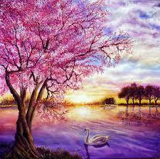 Картинки по запросу картины акрилом пейзажи