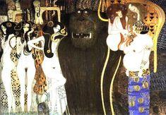 Beethovenfries - Gustav Klimt — Wikipédia