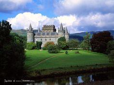 Inveraray Castle, Inverary, Argyll, Scotland, UK