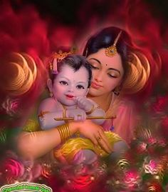 Yashoda e Krishna