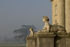 Sphinxes at Croome Court