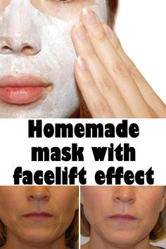 Homemade mask with facelift effect Obtain a hydrated and stretched skin at home by using a homemade mask made from natural ingredients. Natural Hair Growth Remedies, Home Remedies For Hair, Hair Loss Remedies, Beauty Secrets, Beauty Hacks, Beauty Tips, Beauty Skin, Health And Beauty, Face Care
