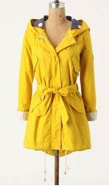 I want a yellow raincoat