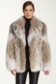 Classic Fur Jacket by Wolfie Furs on @HauteLook