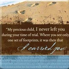 Footprints.....