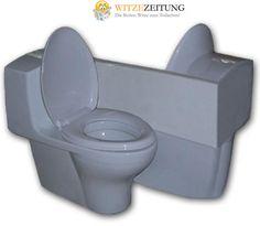 WC für Verliebte - Romantic toilet