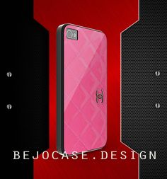 new design chanel pink for iphone 4 and