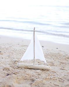 Homemade sail boat