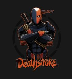 """I'm Deathstroke"""" by A Deathstroke parody of that famous picture of Deadpool. who is a parody of Deathstroke. A sorta reverse/counter parody Dc Deathstroke, Deathstroke The Terminator, Comic Villains, Comic Book Characters, Marvel Vs, Marvel Dc Comics, Deadpool Pictures, Batman Universe, Dc Universe"""