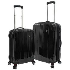Luggage Sets Collections | Travelers Choice Sedona 2 Piece Expandable Luggage Set Spinner in Black *** You can find out more details at the link of the image. Note:It is Affiliate Link to Amazon.