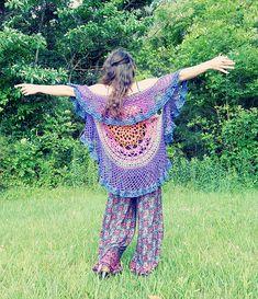 Lotus Circular Vest ~ free pattern ᛡ