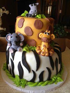 fondant selber machen torten dekorieren zootorte zebra und giraffe fondant figuren