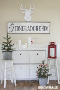 Merry Little Christmas Sign by BetweenYouAndMeSigns on Etsy