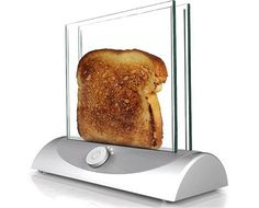 Transparent Toaster (so you can see exactly when your toast is done)