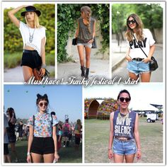 Must have!  Funky festival T-shirt   REF: #Styling #Musthave Glamouricons1.wordpress.com