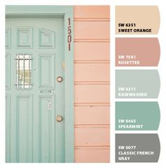 Instantly turn any picture into a palette with ColorSnap, created for you by Sherwin-Williams. Colour Pallette, Colour Schemes, Color Combos, Summer Color Palettes, Summer Colors, Room Colors, House Colors, Colours, Paint Colors For Home