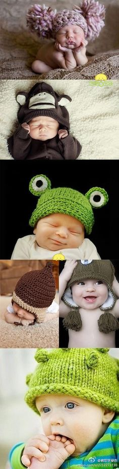 baby hats ^^