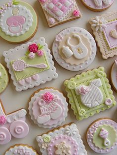 Pretty baby cookies.