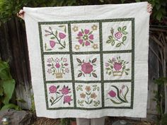 Finished or Not Friday at Busy Hands Quilts.  DONNALEEQ: APPLIQUE FIND