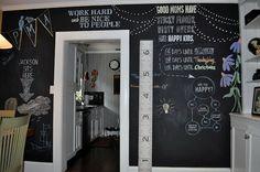 wall chalk