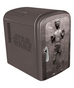 Gamers can keep their drinks as cold as carbonite with a Han Solo fridge if they preorder Star Wars Battlefront from Wal-Mart. You don't even have to hire Boba Fett to bring Han Solo to your doorstep.
