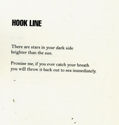 hook line, by andrea gibson
