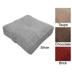 Hamilton Oversize 24-inch Floor Cushion Pillow | Overstock.com Shopping - The Best Deals on Throw Pillows