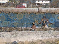 Canal de Entrada, Havana by Michelle LaRiviere #ipadart #percolatorapp #digitalart #photobasedart #portraits #havana #cuba #fishing