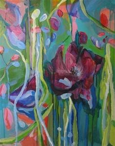 My Flourishing Heart by Colette Wirz Nauke | acrylic painting | Ugallery Online Art Gallery