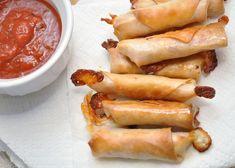 "baked salami mozzarella bites (Jenna's ""little rollies"")"
