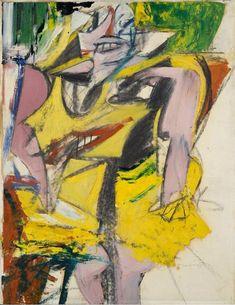 Willem De Kooning (1904-1997) Woman, 1953