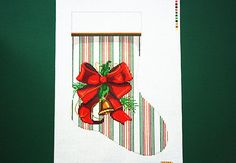 Stockings Christmas Stockings Needlepoint by terrymillerdesigns