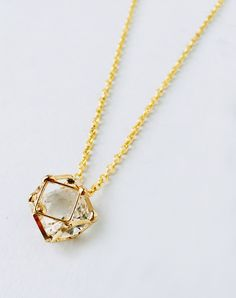 Another Dimension Polyhedron Necklace