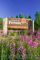 Welcome to Fairbanks, Alaska -- where summer is hot, and winter is long.