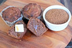 Bran Muffins and Stocking Your Freezer - (can use almond bran, almond flour, coconut flour) / Maria Mind Body Health