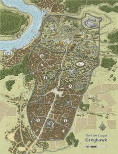 Castle Greyhawk Map