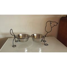 Doxie water bowl @mamamcfarland