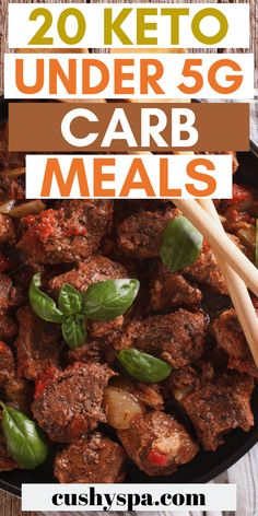 These very low carb dishes are great when you're on keto diet and want to get into ketosis. These ketogenic meals are nutritious and delicious. - 20 Keto Under Carb Meals Ketosis Diet, Ketogenic Diet Meal Plan, Keto Meal Plan, Ketogenic Recipes, Diet Recipes, Healthy Recipes, Slimfast Recipes, Dessert Recipes, Breakfast Recipes