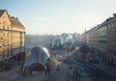 W Sztokholmie zasadzą całoroczny park pod szklaną kopułą   Miasto2077 - Tak wygląda nowoczesne miasto