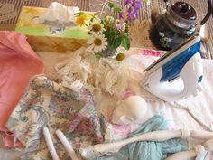 Кукольная мастерская ANNADAN: Работаю на даче...