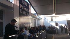 7 de Enero de 2013 - Agradezco al Secretario de seguridad pública de Jalisco el Mtro. Luis Carlos Nájera Gutiérrez su presencia en este acto de celebración a los Policías de San Pedro Tlaquepaque.