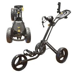 At last the Masters of Trolleys are back in the push cart game! The All New Powakaddy Twin Line 4 Push Cart, available in Black or White