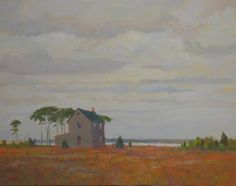 SOLITUDE, Ed Cooper, 16 x 20, oil on linen, $1,700. | See more of Ed's work at: http://www.southstreetartgallery.com/index.html  and http://edcooperstudio.com