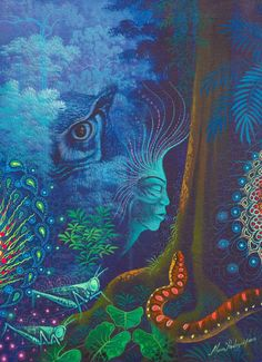 גלריית חזיונותיו של השמאן והאמן מהאמזונאס: פאבלו אמרינגו
