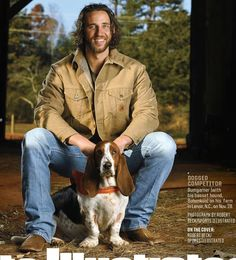 "Giants Madison Bumgarner photographed by Robert Beck in Sports Illustrated ""Sportsman of the Year"" issue. November 2014 at Madison's farm in Lenoir North Carolina with his dog ""Bohunkus"", ya'll. Backyard Baseball, Madison Bumgarner, San Francisco Giants Baseball, Fantasy Baseball, Baseball Training, My Giants, G Man, Buster Posey, Ny Yankees"