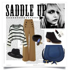 """Saddle Up"" by lavenderwine ❤ liked on Polyvore featuring Derek Lam, Chloé, Sole Society, rag & bone, Topshop, Compagnia Italiana, F, Kothari, contest and autumn"
