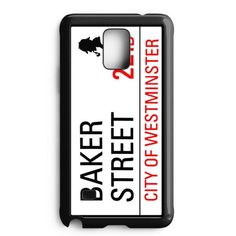 Baker Street 221B Sign Samsung Galaxy Note Edge Case